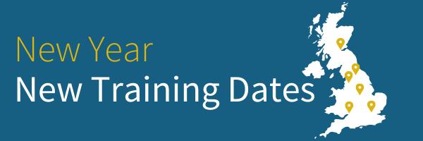 New Year New Training Dates